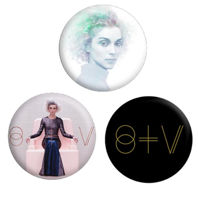 St Vincent St. Vincent Button Pack