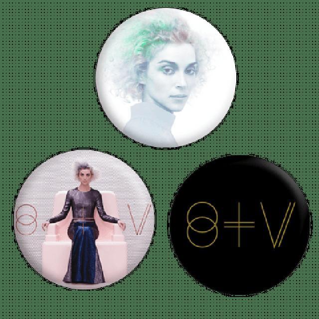 St Vincent St. Vincent Button Pack