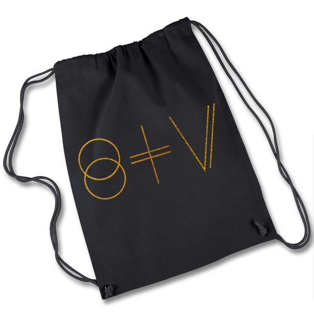 St Vincent STV Logo Drawstring Backpack