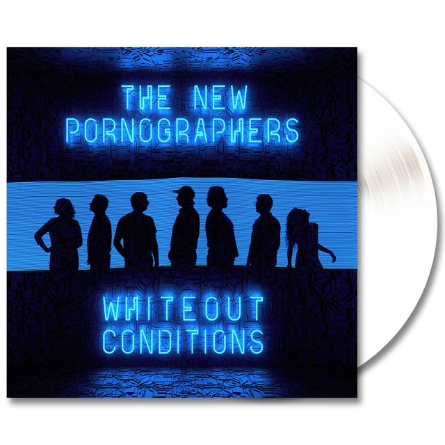 The New Pornographers Whiteout Conditions LP - (White) (Vinyl)