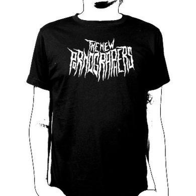 The New Pornographers Cryptic Logo Black T-Shirt