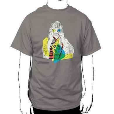 The New Pornographers Through Colored Lenses Slate T-Shirt