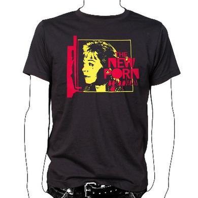 The New Pornographers Punk Black T-Shirt