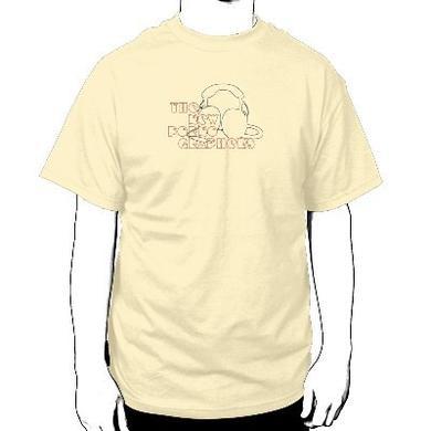 The New Pornographers Headphone Cream T-Shirt