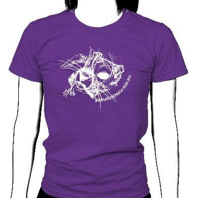 The New Pornographers Marmot Girls Purple T-Shirt