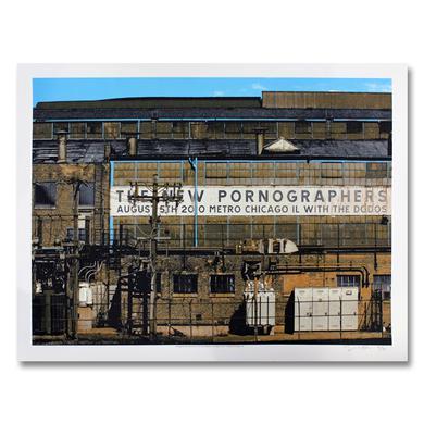 The New Pornographers Metro Chicago, IL 8/5/10 Poster
