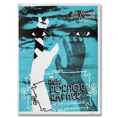 The New Pornographers Stubb's Austin, TX 7/23/10 Poster