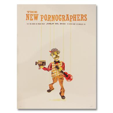 The New Pornographers The Music Box Los Angeles, CA 7/20 Poster
