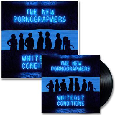 The New Pornographers Whiteout Conditions LP (Black) & Glow In The Dark Poster (Vinyl)