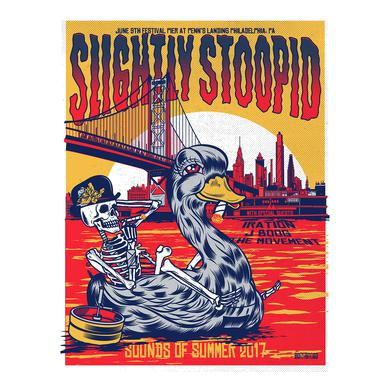 Slightly Stoopid Philadelphia, PA - 6/9/17 Tour Poster