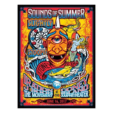 Slightly Stoopid Brooklyn, NY - 6/16/17 Show Poster