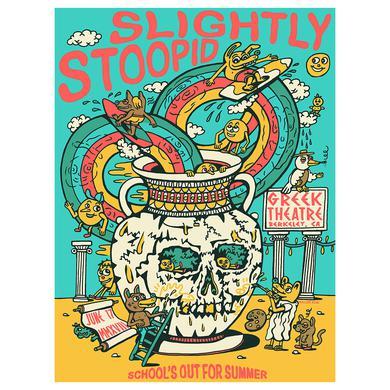 Slightly Stoopid Berkeley, CA - 6/17/18 Poster