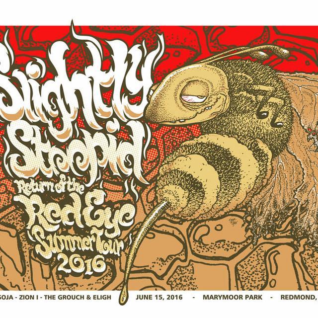 Slightly Stoopid Redmond, WA Event Poster - 6.15.16