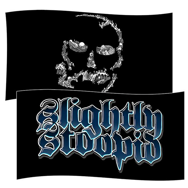 Slightly Stoopid Double Sided Wall Flag