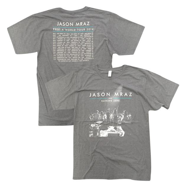 Jason Mraz 2014 Tour T-Shirt (Grey)