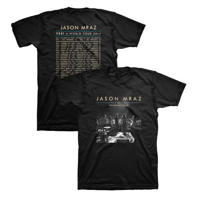 Jason Mraz 2014 Tour T-Shirt (Black)
