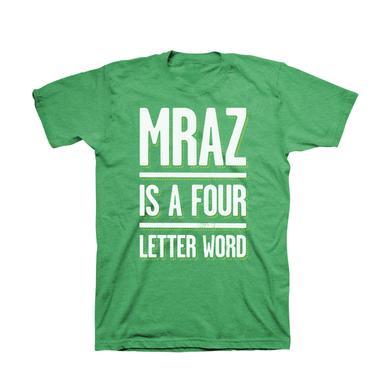 Jason Mraz 4 Letter Word Men's T-Shirt