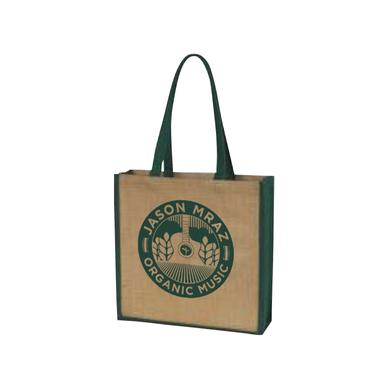 Jason Mraz Jute Tote Bag
