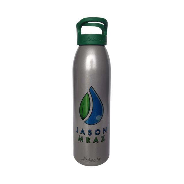 Jason Mraz Recycled Aluminum Water Bottle