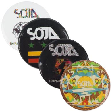 SOJA - Button Pack