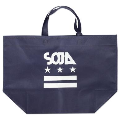 Soja USA Made Reusable Tote - Navy