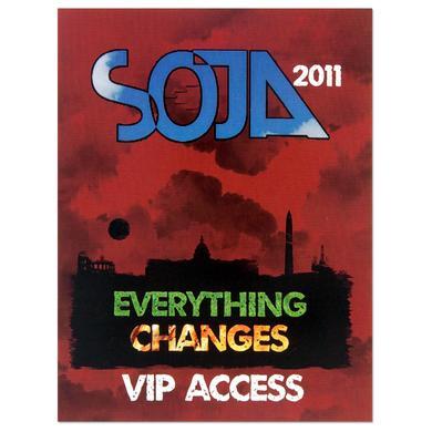 SOJA - Everything Changes Sticker