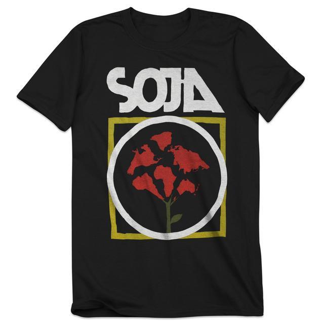 Soja Everything Changes Flower Tee
