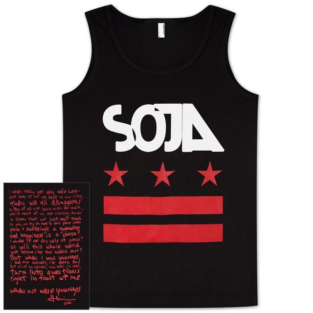 SOJA - Stars & Bars Black Tank