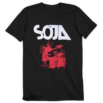 SOJA - Black Drummer Tee