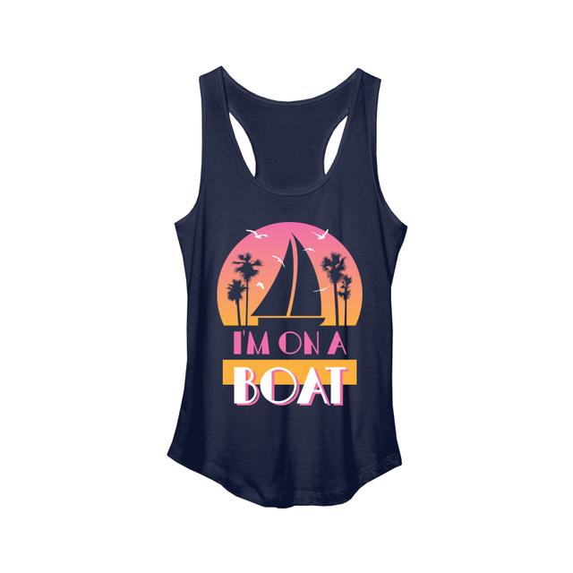 The Lonely Island I'm On A Boat Women's Tank