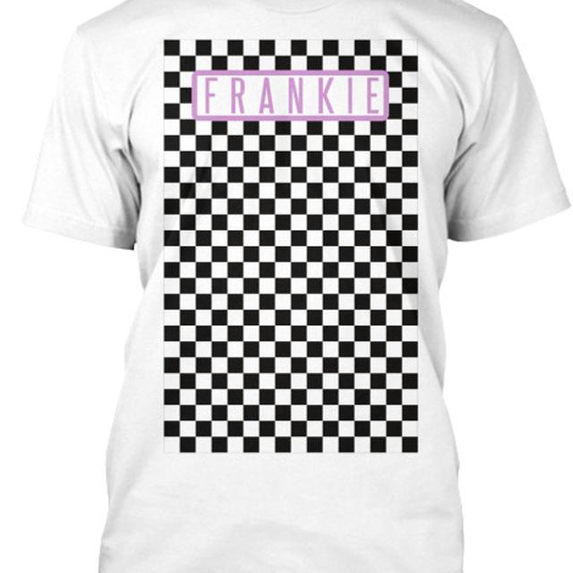 Frankie - Checkerboard T-Shirt