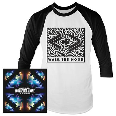 WALK THE MOON - You Are Not Alone MP3 & Baseball Tee Bundle