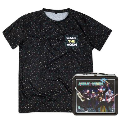 WALK THE MOON Lunchbox and Cut/Sew Tee Bundle
