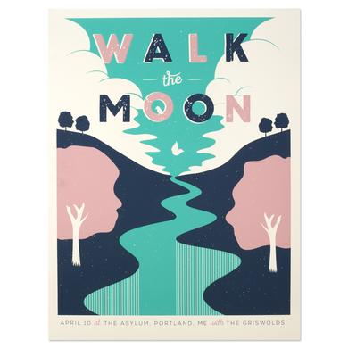 WALK THE MOON Poster April 10 at The Asylum Portland ME w/The Griswolds