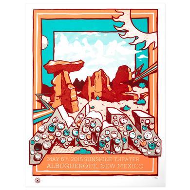 WALK THE MOON Poster May 6, 2015 Sunshine Theatre Albuquerque, New Mexico