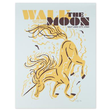 WALK THE MOON Salt Lake City Utah The Complex 8/8/2015 Poster