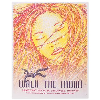 WALK THE MOON Poster 10/23/2015 Showbox Sodo Seattle, Washington