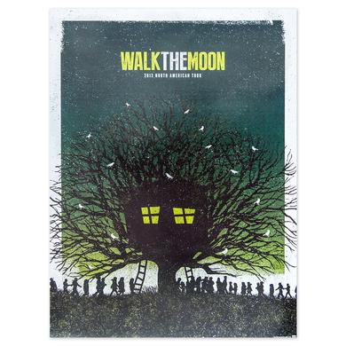 WALK THE MOON 2013 North American Tour Poster