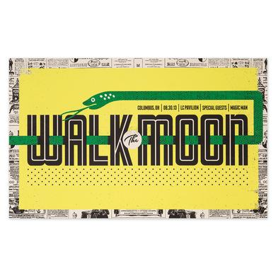 WALK THE MOON Poster 8/30/13 LC Pavilion Columbus, OH