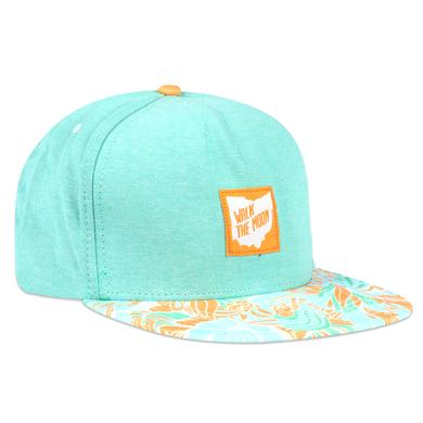 WALK THE MOON Teal Snapback Hat
