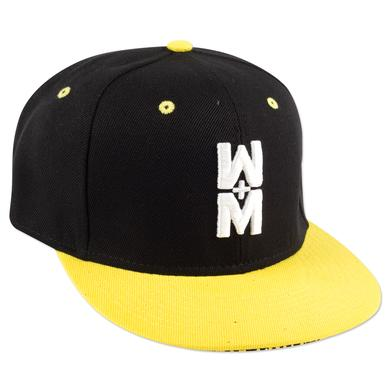WALK THE MOON Hat w/W+M on the front Black/Yellow