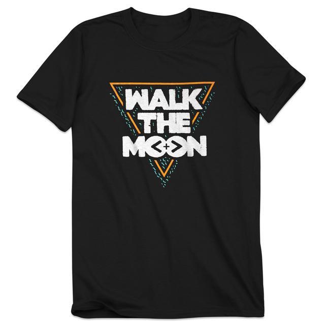 Walk The Moon Triangle Black T-Shirt