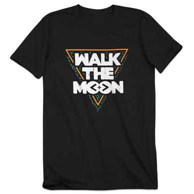 Walk The Moon Triangle Black T-Shirt