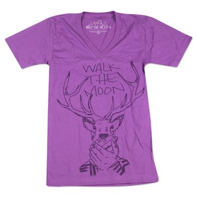 WALK THE MOON Stag V-Neck