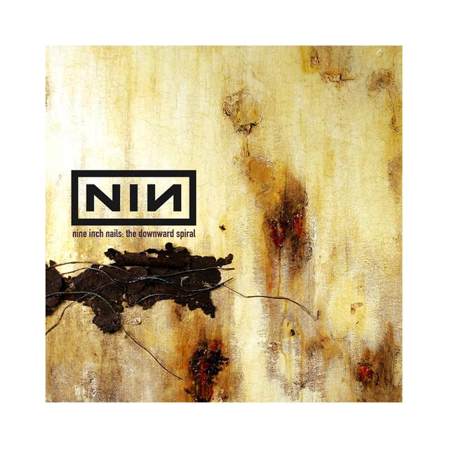 Nine Inch Nails The Downward Spiral Wall Flag