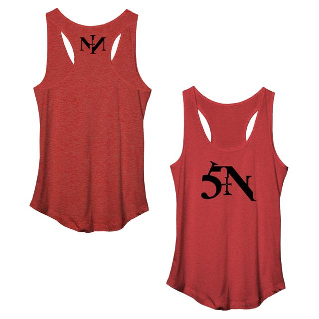 Nine Inch Nails Sin Womens Racerback Tank