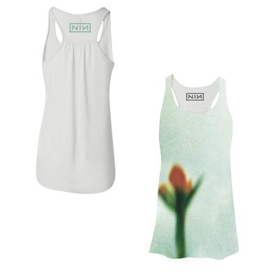 Nine Inch Nails Fragile Flower Sublimated Womens Tank