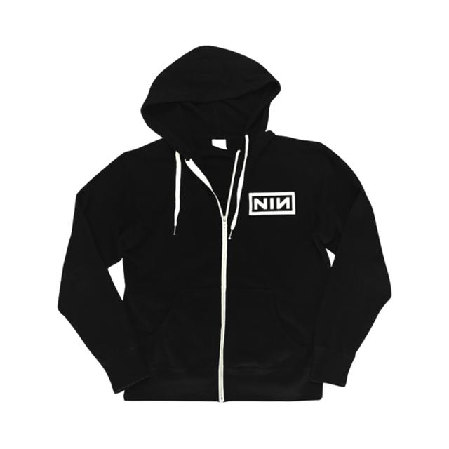 Nine Inch Nails Logo Zip Up Hoodie