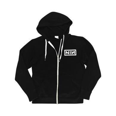 Nine Inch Nails Logo Zip Up Hoodie