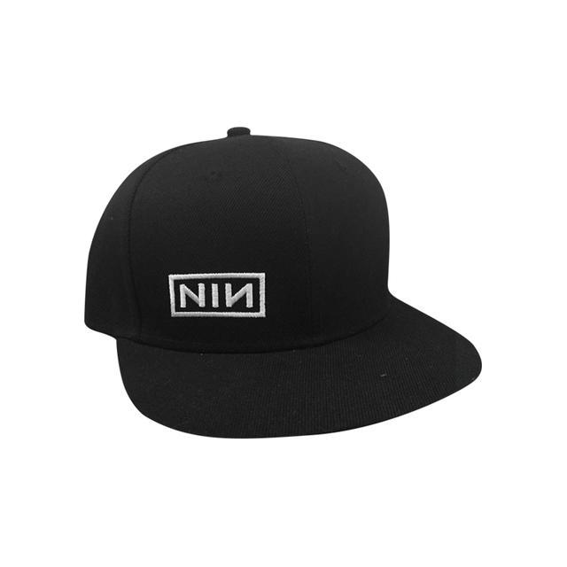 Nine Inch Nails NIN Logo Flatbill Snapback